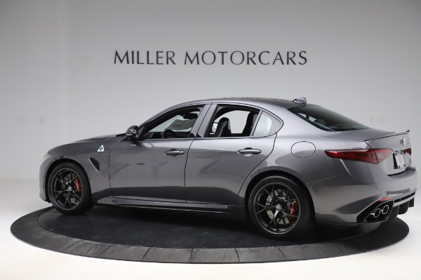 New 2020 Alfa Romeo Giulia Quadrifoglio for sale $82,445 at McLaren Greenwich in Greenwich CT 06830 4