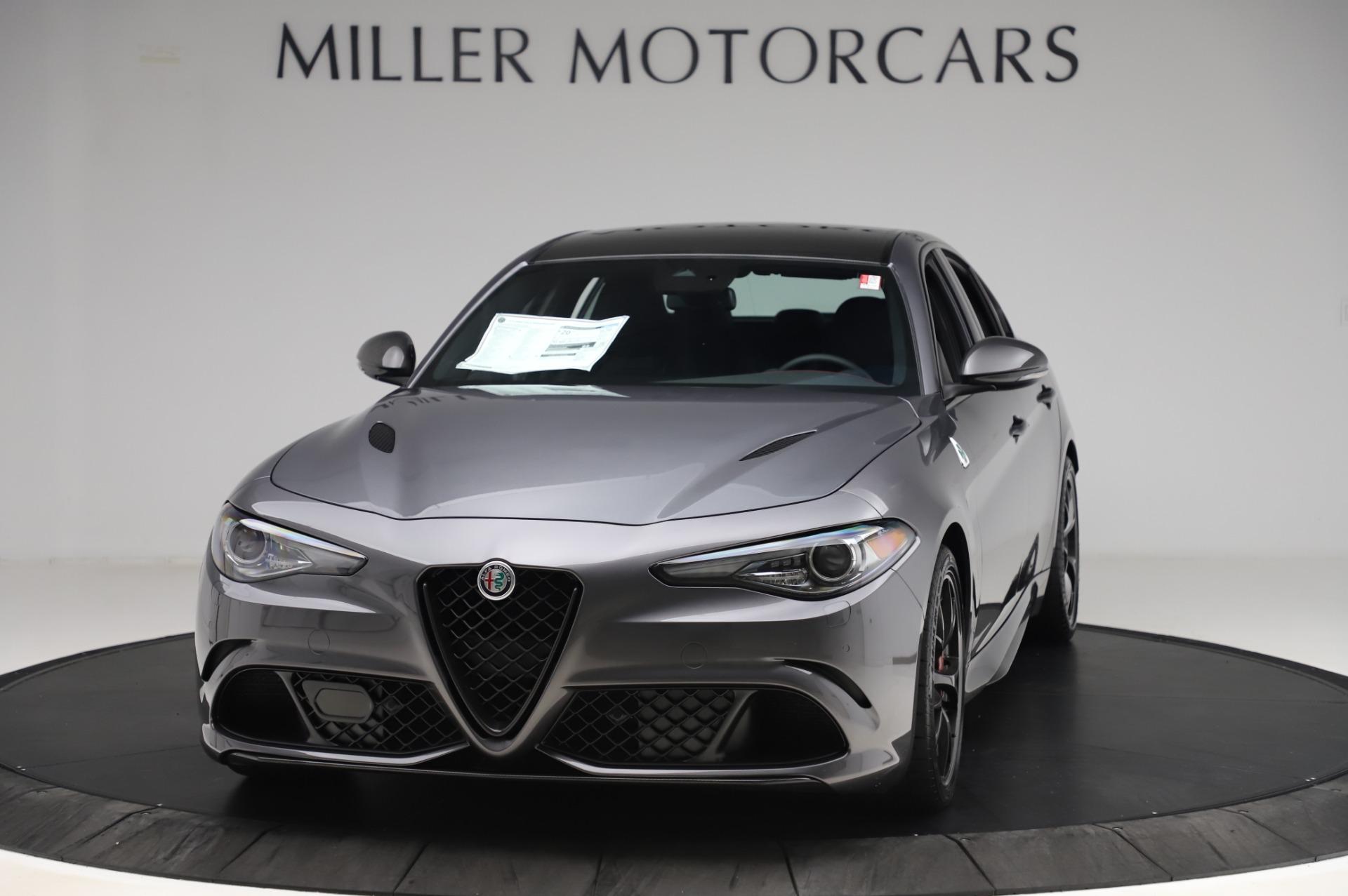 New 2020 Alfa Romeo Giulia Quadrifoglio for sale $82,445 at McLaren Greenwich in Greenwich CT 06830 1