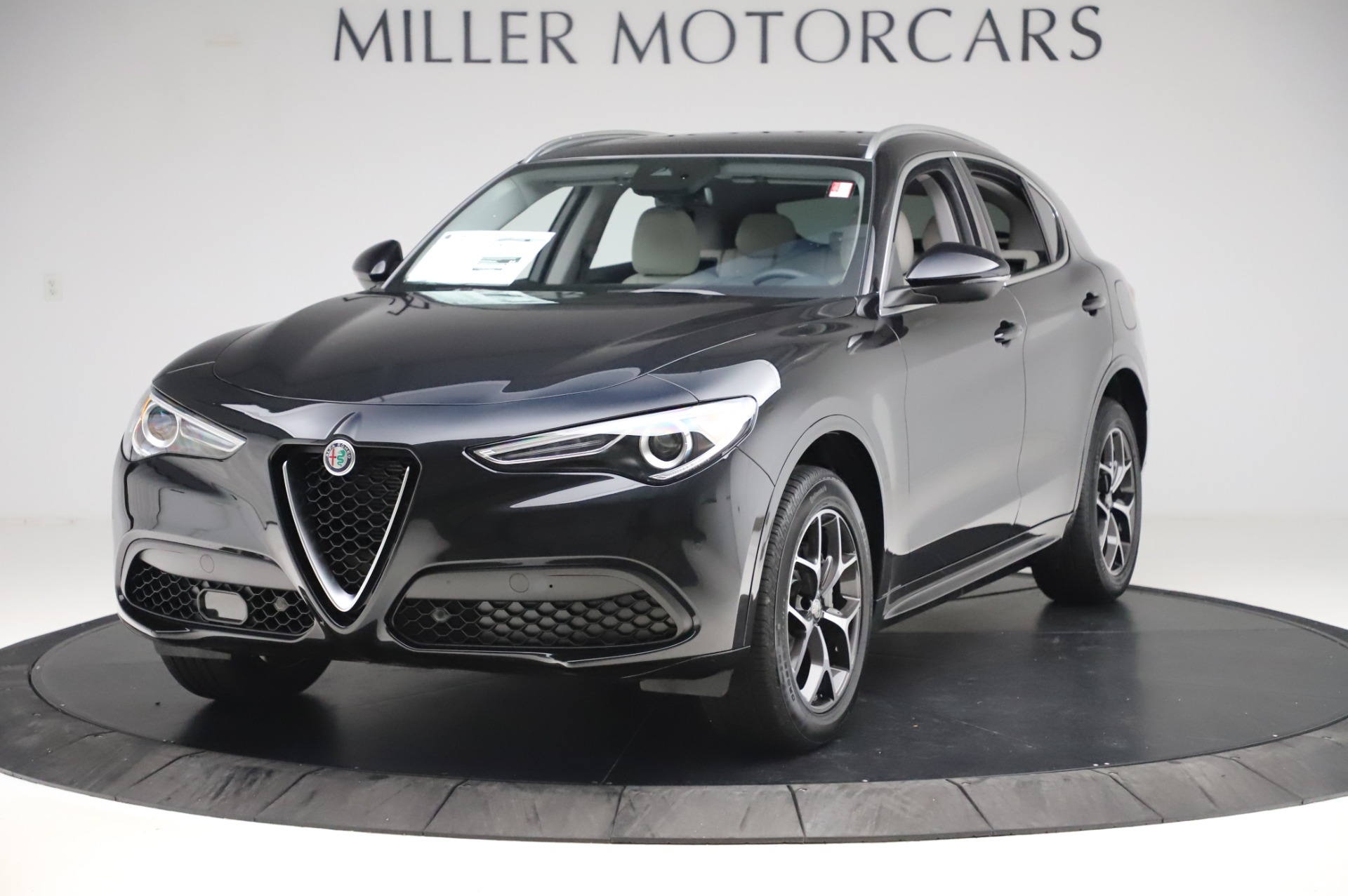 New 2020 Alfa Romeo Stelvio Ti Q4 for sale $50,895 at McLaren Greenwich in Greenwich CT 06830 1