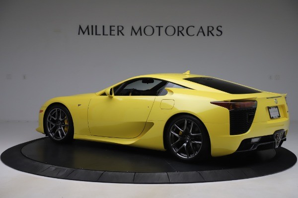 Used 2012 Lexus LFA for sale $509,900 at McLaren Greenwich in Greenwich CT 06830 4