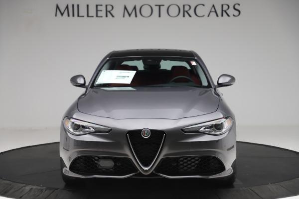 New 2020 Alfa Romeo Giulia Sport Q4 for sale $48,945 at McLaren Greenwich in Greenwich CT 06830 1