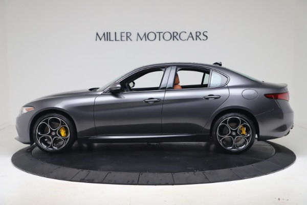 New 2020 Alfa Romeo Giulia Ti Sport Q4 for sale Sold at McLaren Greenwich in Greenwich CT 06830 3