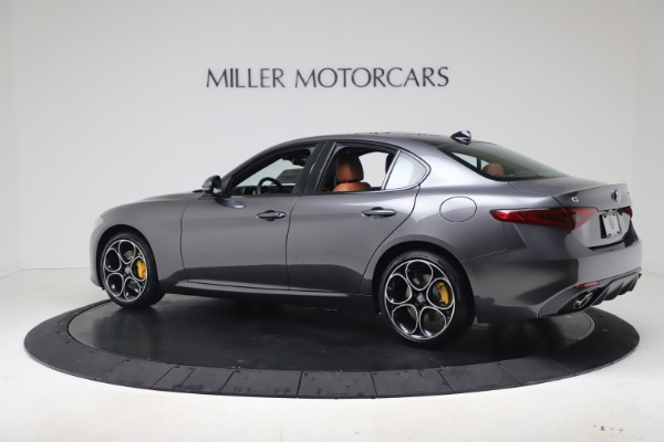New 2020 Alfa Romeo Giulia Ti Sport Q4 for sale Sold at McLaren Greenwich in Greenwich CT 06830 4