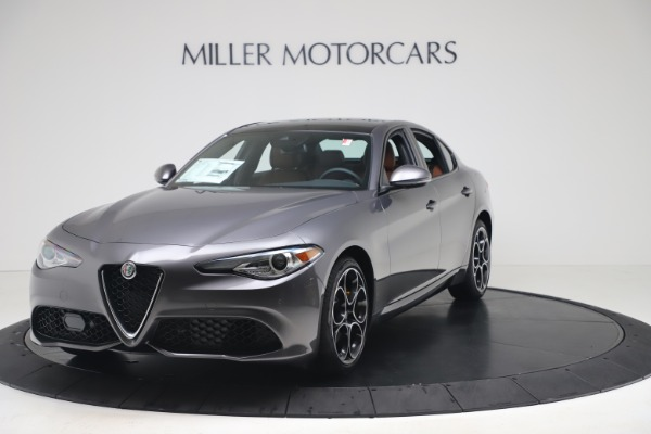 New 2020 Alfa Romeo Giulia Ti Sport Q4 for sale Sold at McLaren Greenwich in Greenwich CT 06830 1