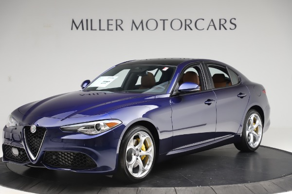 New 2020 Alfa Romeo Giulia Ti Sport Q4 for sale Sold at McLaren Greenwich in Greenwich CT 06830 2