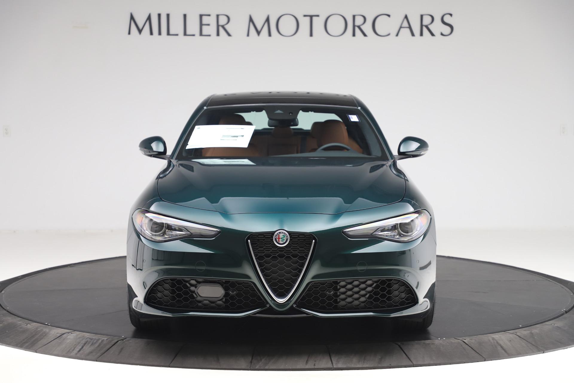 New 2020 Alfa Romeo Giulia Q4 for sale $46,995 at McLaren Greenwich in Greenwich CT 06830 1