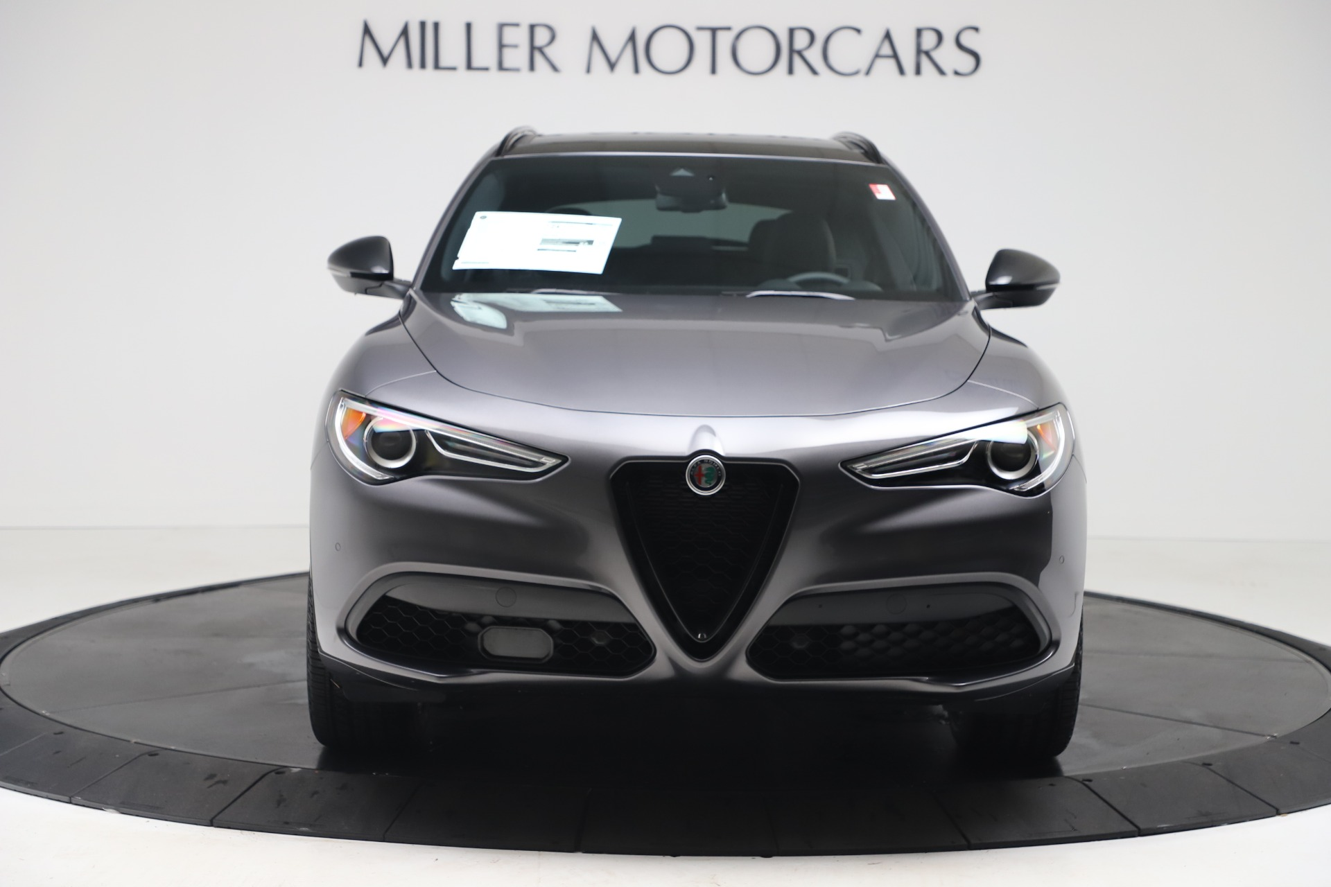 New 2020 Alfa Romeo Stelvio Ti Q4 for sale $51,045 at McLaren Greenwich in Greenwich CT 06830 1