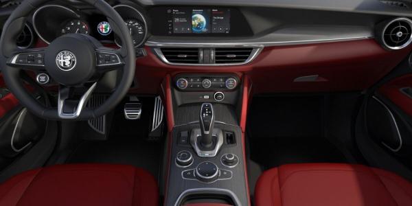 New 2020 Alfa Romeo Stelvio Ti Lusso Q4 for sale $54,145 at McLaren Greenwich in Greenwich CT 06830 4