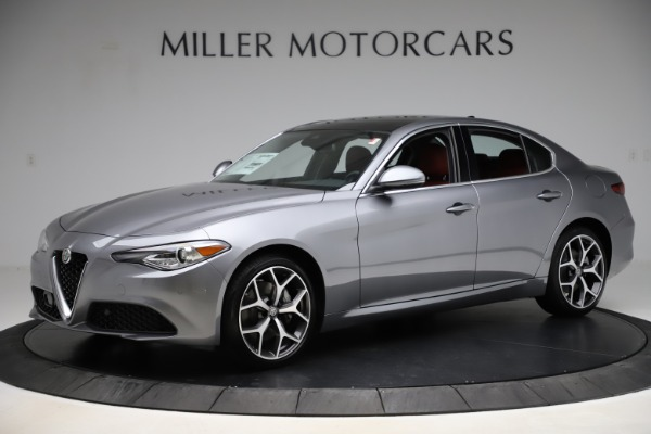 New 2020 Alfa Romeo Giulia Ti Q4 for sale $48,345 at McLaren Greenwich in Greenwich CT 06830 2