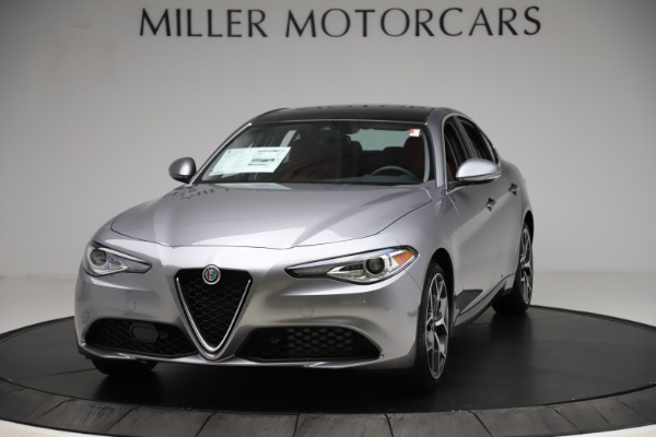 New 2020 Alfa Romeo Giulia Ti Q4 for sale $48,345 at McLaren Greenwich in Greenwich CT 06830 1