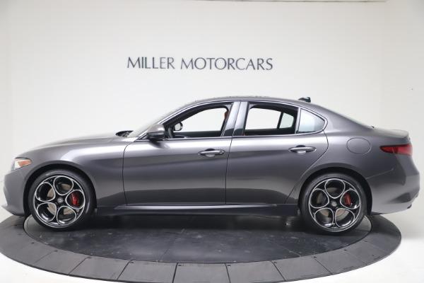 New 2020 Alfa Romeo Giulia Ti Sport Q4 for sale $51,095 at McLaren Greenwich in Greenwich CT 06830 3