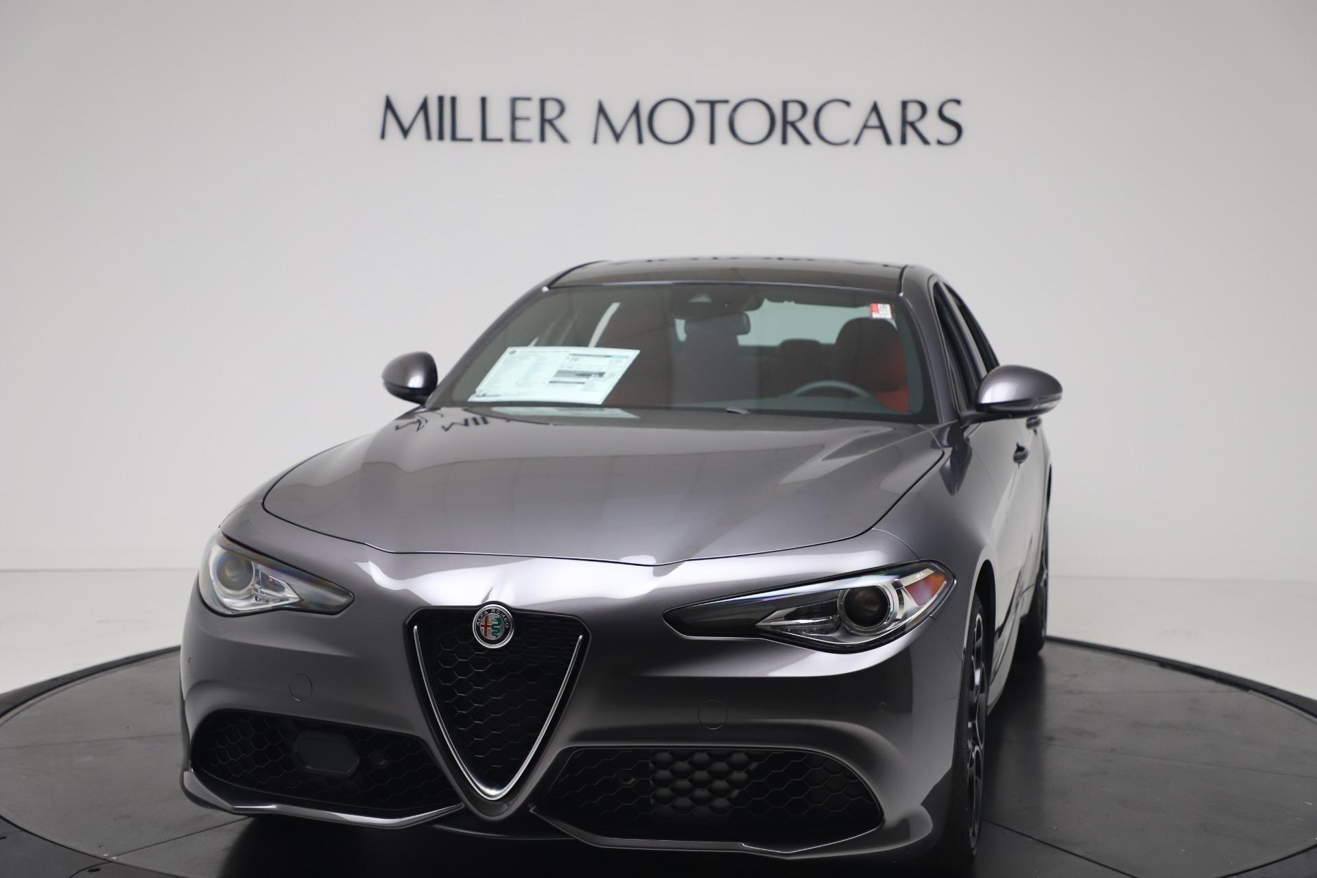 New 2020 Alfa Romeo Giulia Ti Sport Q4 for sale $51,095 at McLaren Greenwich in Greenwich CT 06830 1