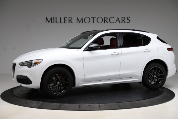 New 2020 Alfa Romeo Stelvio Ti Sport Q4 for sale $54,345 at McLaren Greenwich in Greenwich CT 06830 2