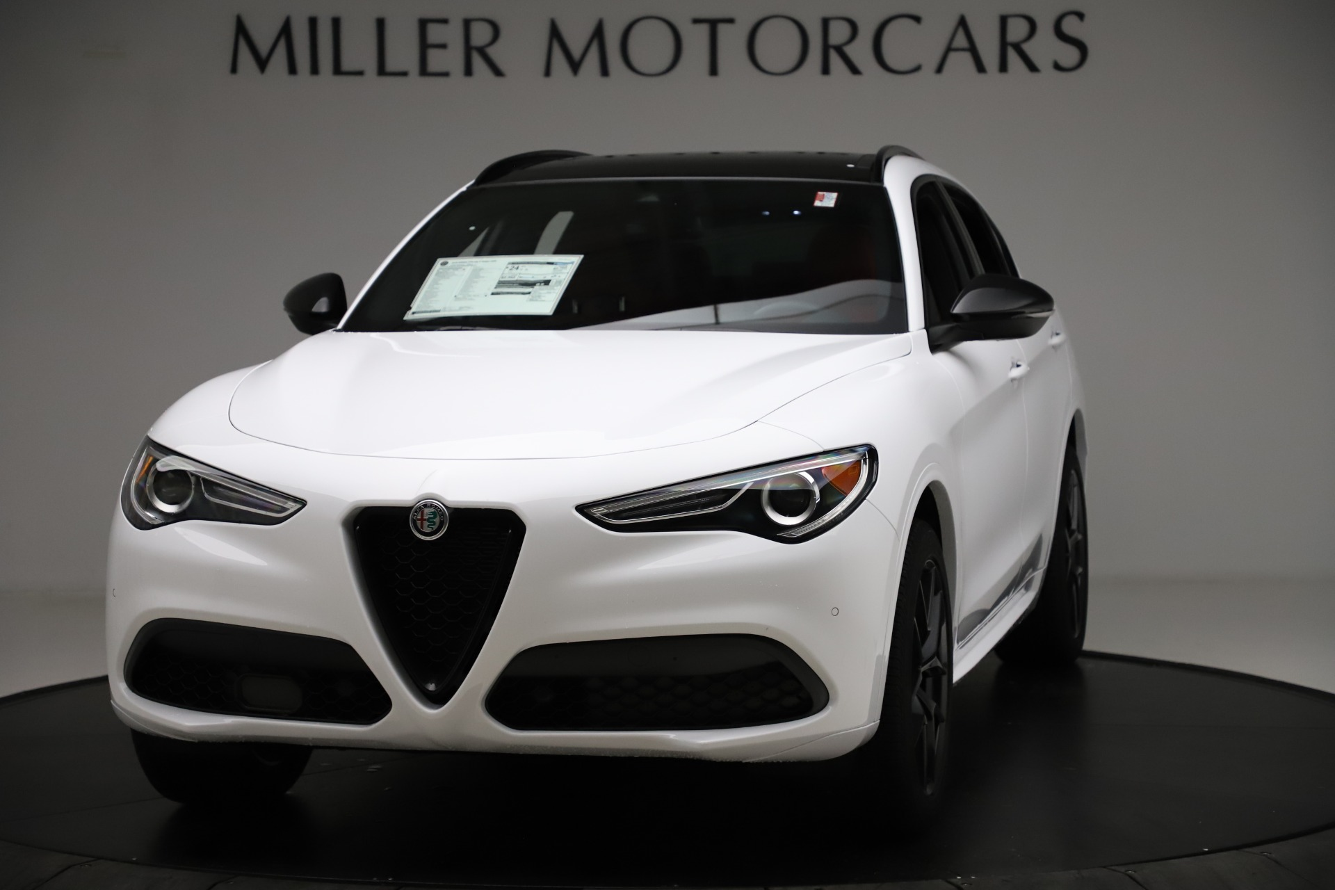 New 2020 Alfa Romeo Stelvio Ti Sport Q4 for sale $54,345 at McLaren Greenwich in Greenwich CT 06830 1
