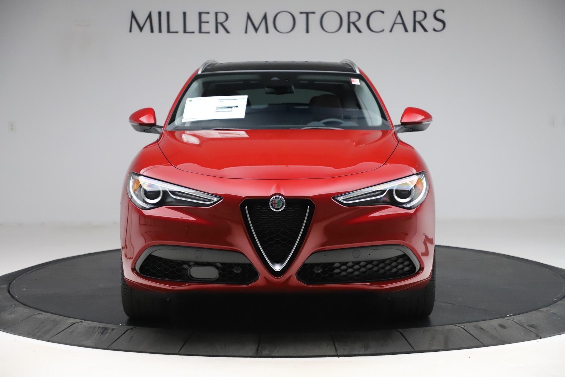 New 2020 Alfa Romeo Stelvio Ti Lusso Q4 for sale Sold at McLaren Greenwich in Greenwich CT 06830 1