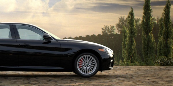 New 2020 Alfa Romeo Giulia Ti Lusso Q4 for sale $51,195 at McLaren Greenwich in Greenwich CT 06830 2