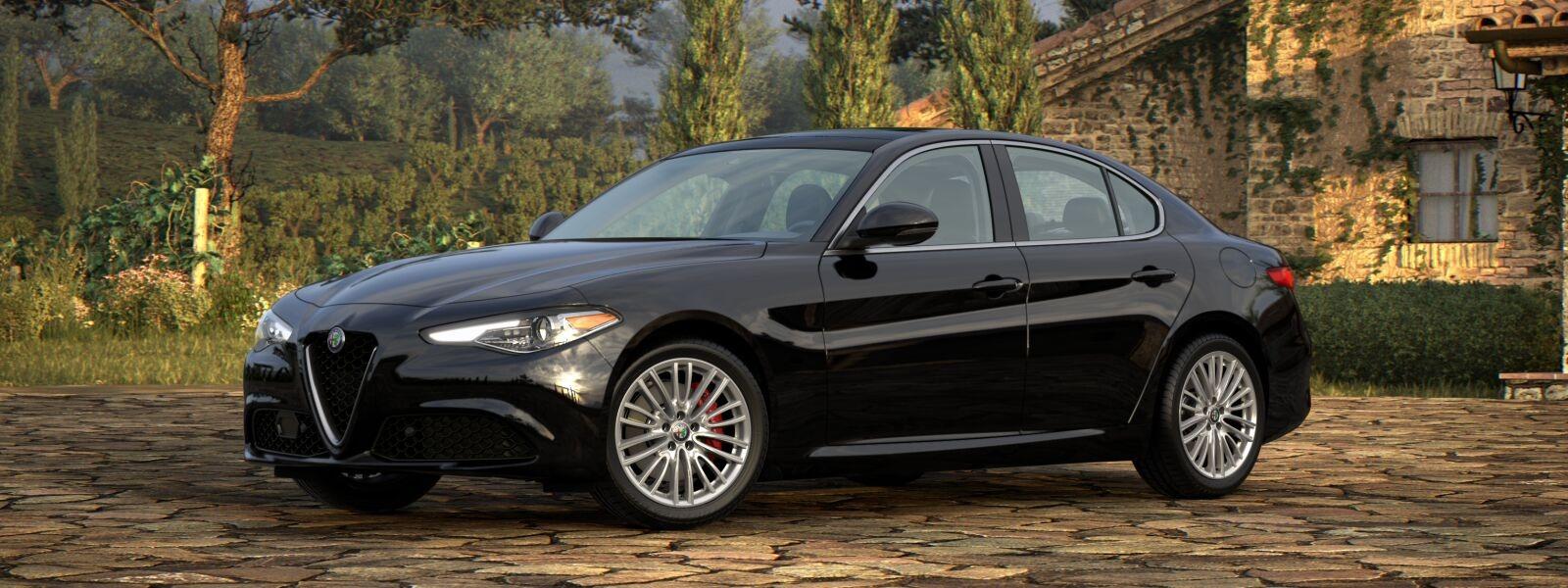 New 2020 Alfa Romeo Giulia Ti Lusso Q4 for sale $51,195 at McLaren Greenwich in Greenwich CT 06830 1