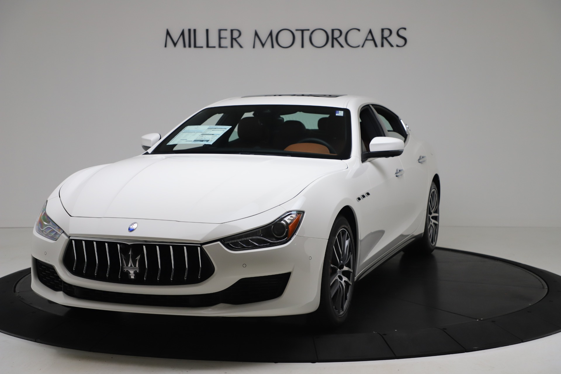 New 2020 Maserati Ghibli S Q4 for sale $84,735 at McLaren Greenwich in Greenwich CT 06830 1