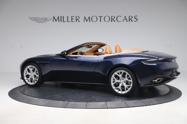 Used 2019 Aston Martin DB11 Volante Convertible for sale Sold at McLaren Greenwich in Greenwich CT 06830 3