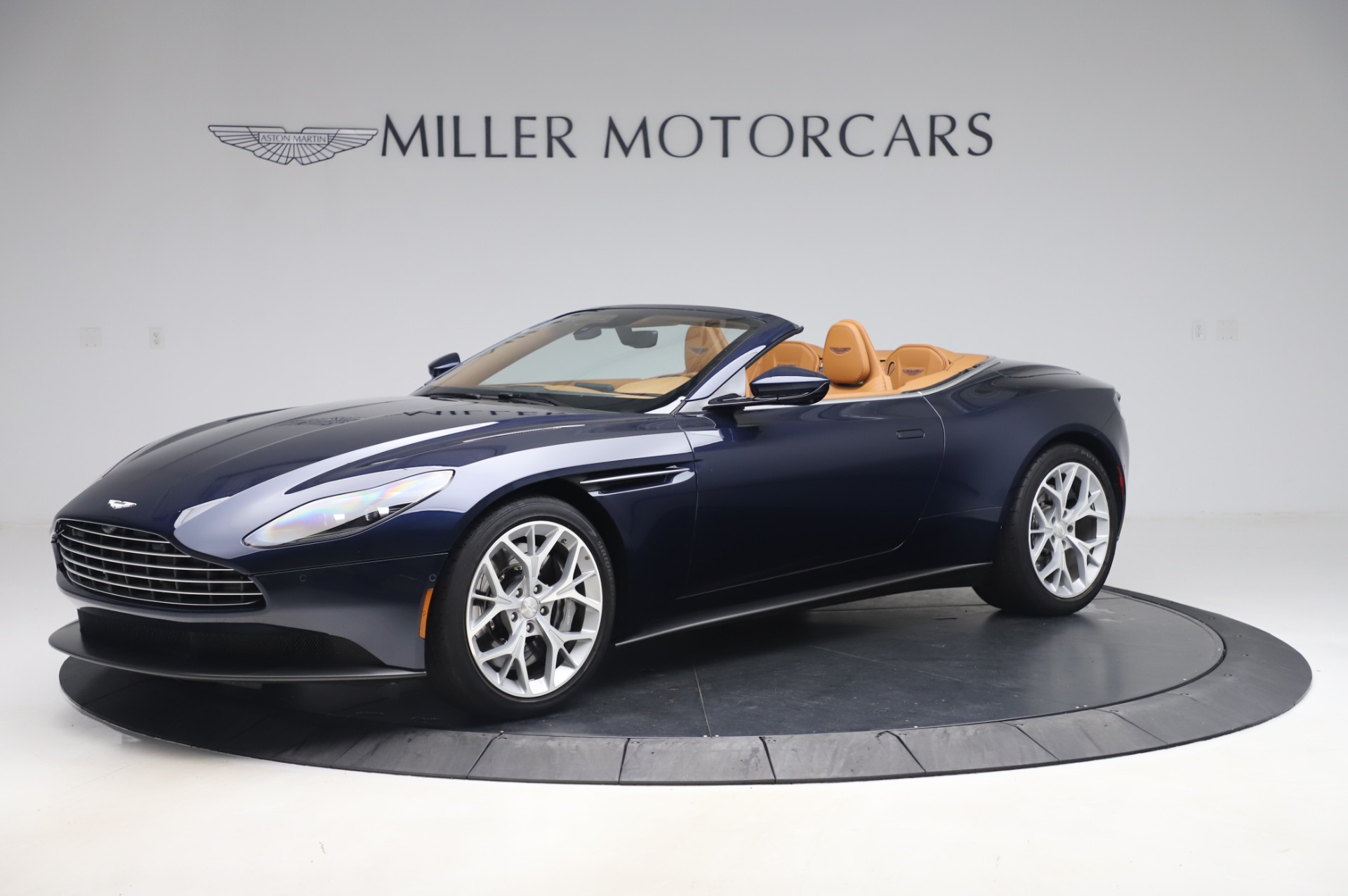 Used 2019 Aston Martin DB11 Volante Convertible for sale Sold at McLaren Greenwich in Greenwich CT 06830 1