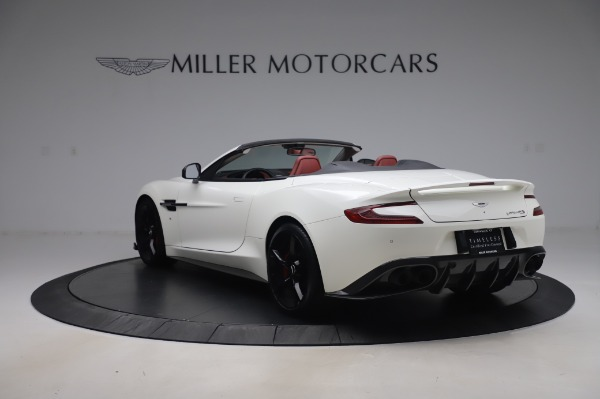 Used 2018 Aston Martin Vanquish S Volante for sale $183,900 at McLaren Greenwich in Greenwich CT 06830 4