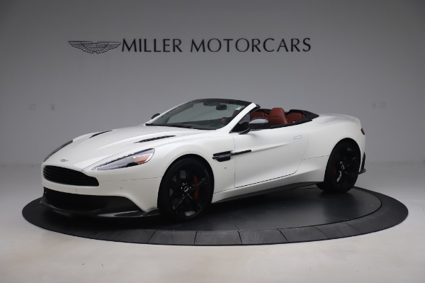 Used 2018 Aston Martin Vanquish S Volante for sale $183,900 at McLaren Greenwich in Greenwich CT 06830 1