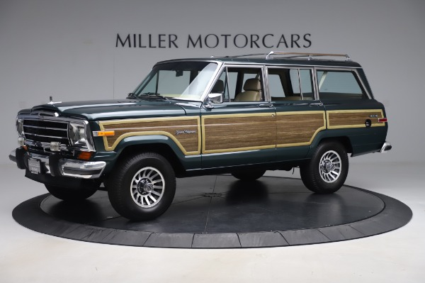 Used 1991 Jeep Grand Wagoneer for sale $89,900 at McLaren Greenwich in Greenwich CT 06830 2