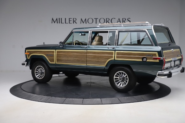 Used 1991 Jeep Grand Wagoneer for sale $89,900 at McLaren Greenwich in Greenwich CT 06830 4