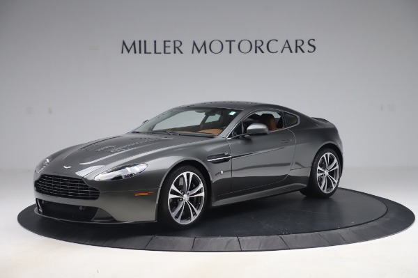 Used 2011 Aston Martin V12 Vantage Coupe for sale $108,990 at McLaren Greenwich in Greenwich CT 06830 1