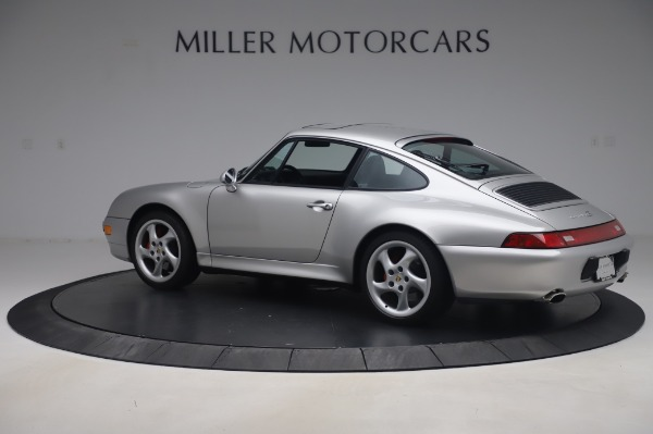 Used 1998 Porsche 911 Carrera 4S for sale Sold at McLaren Greenwich in Greenwich CT 06830 3