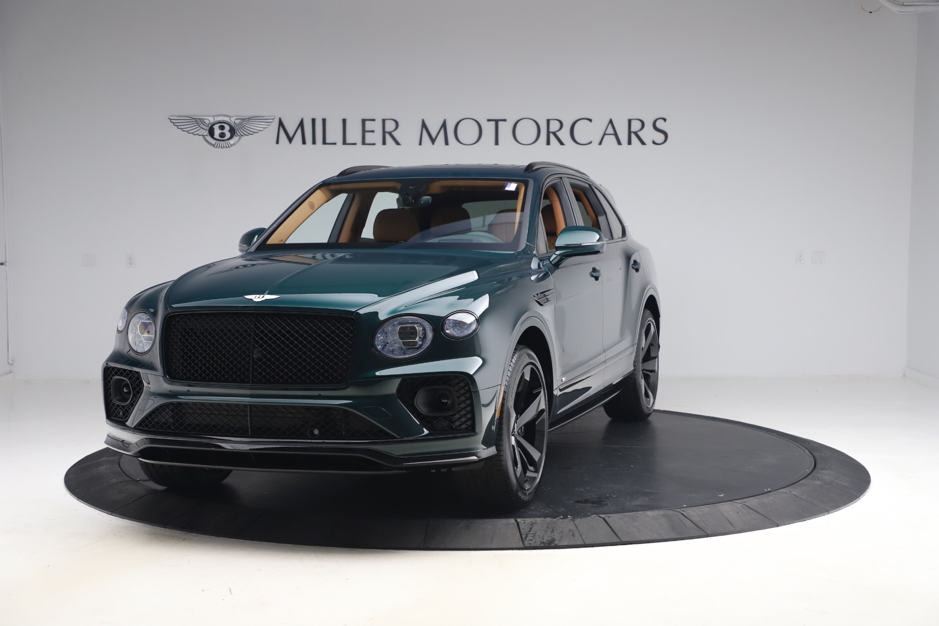 New 2021 Bentley Bentayga V8 First Edition for sale $265,205 at McLaren Greenwich in Greenwich CT 06830 1