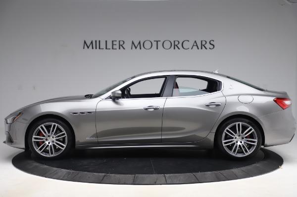 New 2020 Maserati Ghibli S Q4 GranSport for sale $93,285 at McLaren Greenwich in Greenwich CT 06830 3