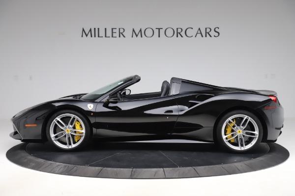 Used 2017 Ferrari 488 Spider for sale $284,900 at McLaren Greenwich in Greenwich CT 06830 3
