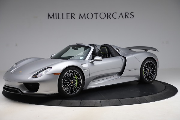 Used 2015 Porsche 918 Spyder for sale $1,355,900 at McLaren Greenwich in Greenwich CT 06830 2