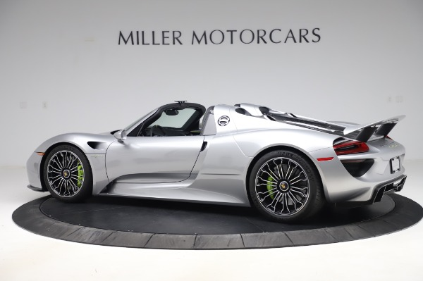 Used 2015 Porsche 918 Spyder for sale $1,355,900 at McLaren Greenwich in Greenwich CT 06830 4