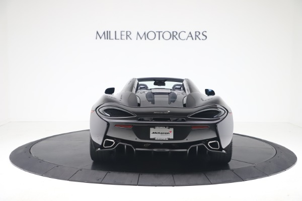 Used 2019 McLaren 570S Spider Convertible for sale $189,900 at McLaren Greenwich in Greenwich CT 06830 4