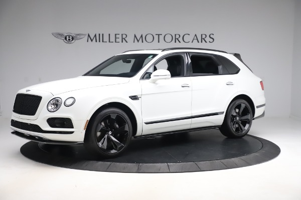 Used 2018 Bentley Bentayga Black Edition for sale Call for price at McLaren Greenwich in Greenwich CT 06830 2