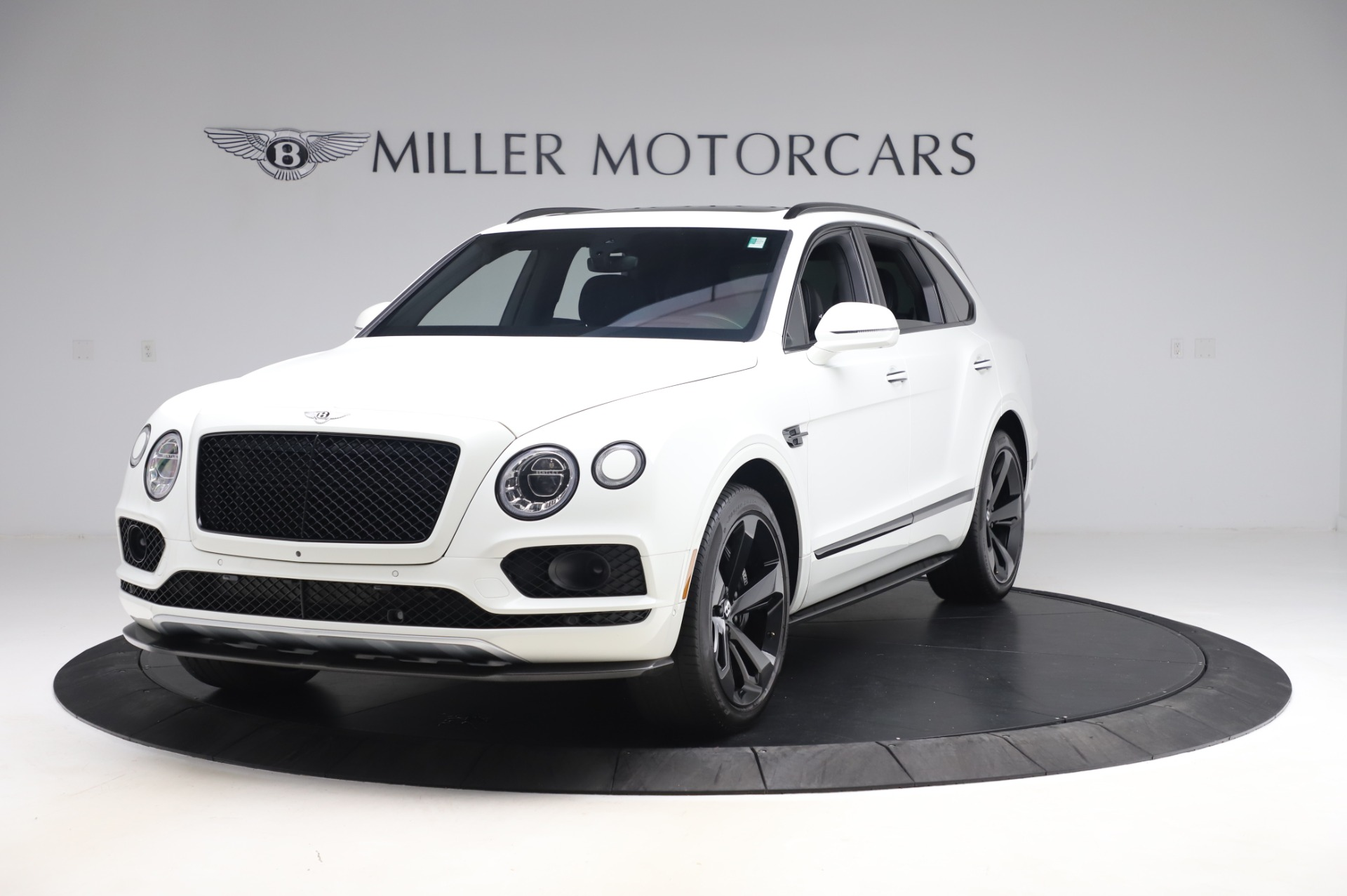 Used 2018 Bentley Bentayga Black Edition for sale Call for price at McLaren Greenwich in Greenwich CT 06830 1