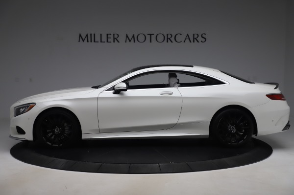 Used 2015 Mercedes-Benz S-Class S 550 4MATIC for sale Sold at McLaren Greenwich in Greenwich CT 06830 3