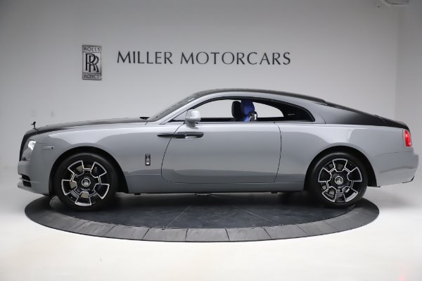 Used 2017 Rolls-Royce Wraith Black Badge for sale $269,900 at McLaren Greenwich in Greenwich CT 06830 4