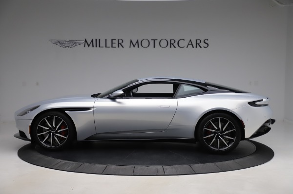 Used 2018 Aston Martin DB11 V8 Coupe for sale Sold at McLaren Greenwich in Greenwich CT 06830 2