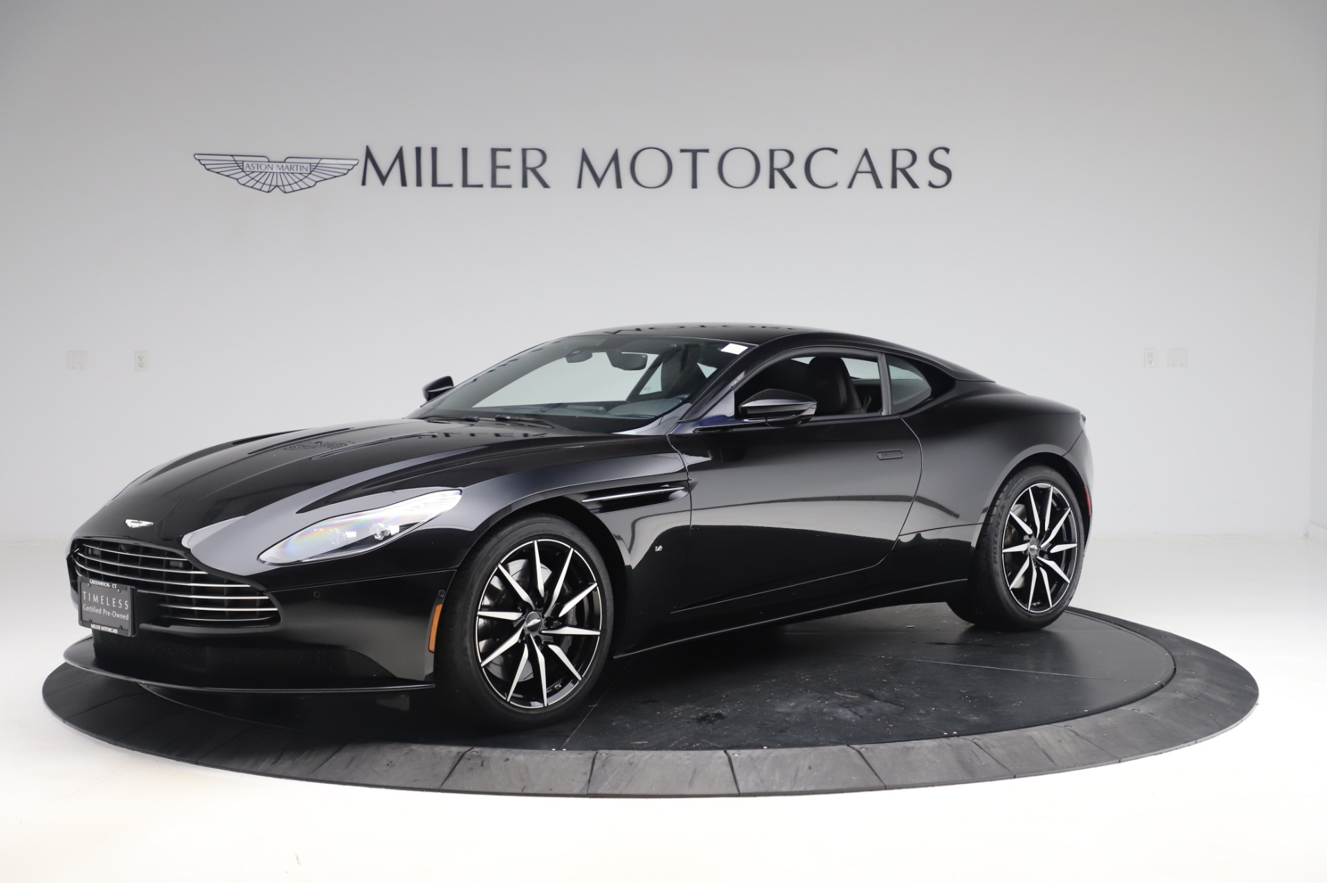 Used 2017 Aston Martin DB11 V12 Coupe for sale $149,900 at McLaren Greenwich in Greenwich CT 06830 1