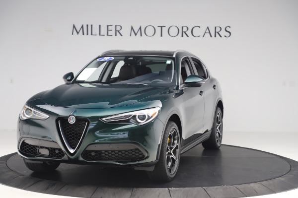 Used 2019 Alfa Romeo Stelvio Ti Lusso for sale Call for price at McLaren Greenwich in Greenwich CT 06830 1