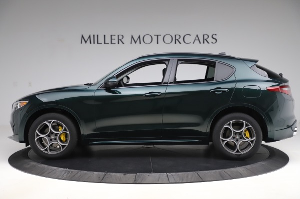 New 2020 Alfa Romeo Stelvio Sport Q4 for sale Sold at McLaren Greenwich in Greenwich CT 06830 3