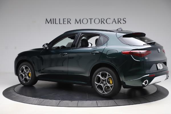 New 2020 Alfa Romeo Stelvio Sport Q4 for sale Sold at McLaren Greenwich in Greenwich CT 06830 4