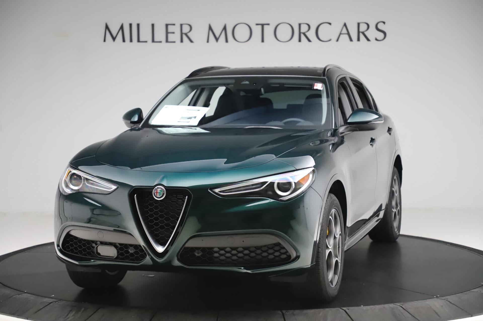 New 2020 Alfa Romeo Stelvio Sport Q4 for sale $49,995 at McLaren Greenwich in Greenwich CT 06830 1