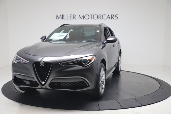 New 2020 Alfa Romeo Stelvio Ti Sport Q4 for sale $53,545 at McLaren Greenwich in Greenwich CT 06830 1