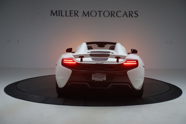 Used 2016 McLaren 650S Spider for sale $152,900 at McLaren Greenwich in Greenwich CT 06830 4