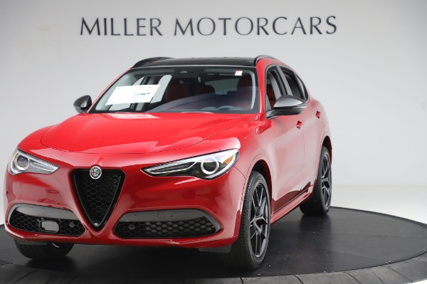 New 2020 Alfa Romeo Stelvio Sport Q4 for sale $50,195 at McLaren Greenwich in Greenwich CT 06830 1