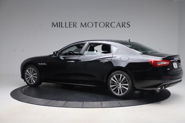 New 2020 Maserati Quattroporte S Q4 for sale $110,999 at McLaren Greenwich in Greenwich CT 06830 4